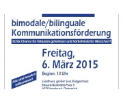 Bimodale/bilinguale Kommunikationsförderung