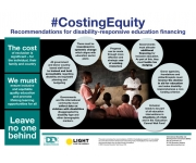 "Event on ""Equitable financing for disability-inclusive education"" in Brussels"