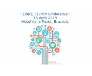 EPALE, the Electronic Platform for Adult Learning in Europe, to be officially launched on April 15
