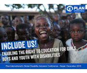 'Include Us!' Global Disability Inclusion Conference